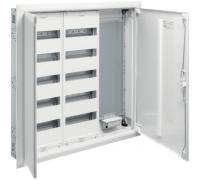 Секционный распределительный щит FW Hager, скрытая установка, 2 секции по 60 модулей