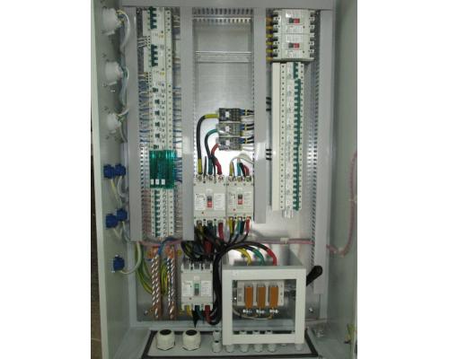 Щит ЩМПМг 04 с монтажной панелью. IP54