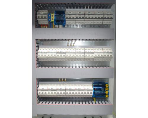 Щит ЩМПМг 02 с монтажной панелью. IP54