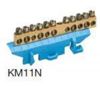 Клеммник PE на дин-рейку, арт. KM11E