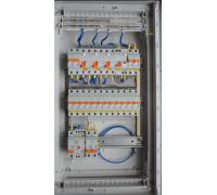 Щит для наружного монтажа, 3x12 модулей Volta Hager