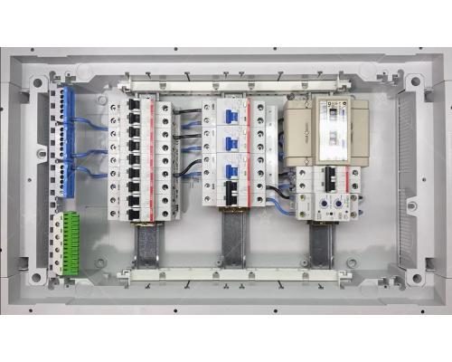 Электрощит ABB для скрытой установки на 36 (42) модулей